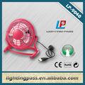 venda quente da economia do espaço mini ventilador do usb para a promoção