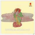 Belle fille kites, artisanat cerfs volants, grande taille traditionnelle kites