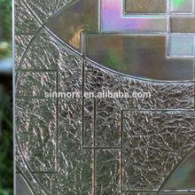 Top selling 3d window static cling film/window decorative self adhesive film/UV resistant window sticker