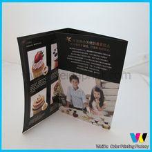 tri-fold brochure designing,custom wholesale catalog book printing