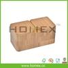Fancy Bamboo Spice Jar/Spice Box Container/Kitchen Accessory/HOMEX-FSC/SGS/FDA/LFGB/BSCI