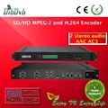 Mpeg- 2 e h. 264 codificador, single canal sd/hd sdi/hdmi para ip encoder