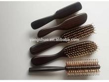AET 5018 Yongsun 2014 top quality WOOD hair extension brush wholesale