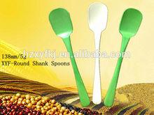 Biodegradable Plastic yogurt spoons Ice cream safe spoons for Europe