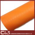 color de papel adhesivo de vinilo fibra de carbono de coches de vinilo