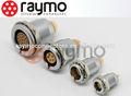 Lemo series B 3 pines conector circular metal, enchufe EGG,00/0/1/2/3 B