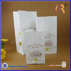 High Quality Custom Printed Paper Bag For Bread / Paper Bread Bag