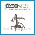 tf22742 misturador com handheld chuveiro banheira banheira artística do chuveiro do banheiro antigo bronze torneira da cozinha