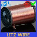 Professionale ad alta- prestazioni magnetico bobine ad induzione autoadesivo rame litz prezzo