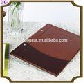 Hôtel/restaurant./boutiquepour/bar, cuir menu couvrir/titulaire./fichiersde, multi- couleur