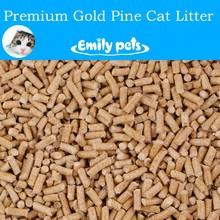 Wood pellet organic cat sand kitty sand