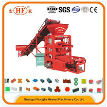 New business opportunity! Hongfa QTJ4-26C good performance cement building brick making machine for sale