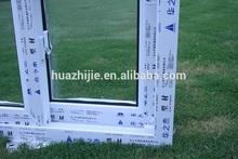 Huazhijie stylish and affordable plastic sliding window noise reduction