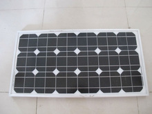 high efficiency mono solar panel 40W with TUV CE SGS Conversion rate 18%
