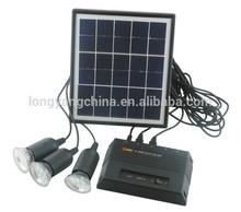 4W Portable portable solar power system mini solar lighting for home lighting