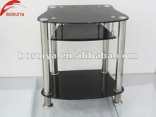 Space saving furniture Tempered glass tv stand turkey