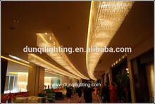 Dubai hotel 2013 glass pendent crystal lamp