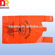 2014 Hot Sale Custom Printed Hdpe Plastic Shopping Bags