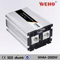 dc a ac adaptador de corriente 2000w 110v 12v inversor de la cc al convertidor de ac