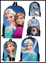 2015 Wholesale School bag for kids frozen school backpack Student bags school