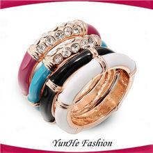 Hot Style Costume Imitation Diamond Wedding Ring Sets
