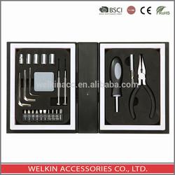 24 pcs tool set in plastic box