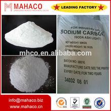 China high quality factory price soda ash light 99.2% Na2CO3