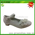 hermosa niña de las flores de los niños zapatos de vestido de niña de zapatos