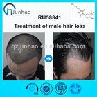 Treatment of male hair loss RU 58841 cas:154992-24-2