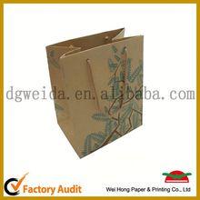 80kg kraft paper bag,factrory supply kraft art paper bag