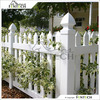 Made In China Wholesale Fentech White Color Picket Cheap Vinyl Fence