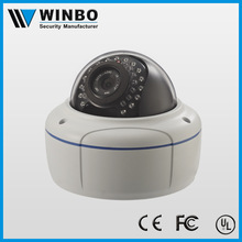 weatherproof digital high resolution 2 megapixel dome camera power over ethernet