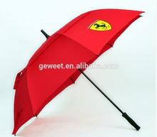 2014 all kinds jumbo car logo golf umbrella