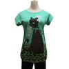 cool cheap nice fashion cute animal 2014 ladies tops latest design