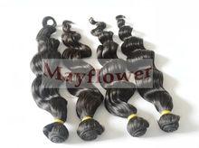 100 vigin hair extension virgin brazilian no tangle wholesales price