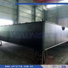 steel floating pontoon boat for dredging and marine construction(USA001)