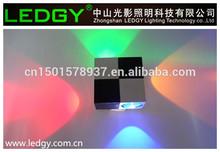 decorative colorful led wall light led light wall night club