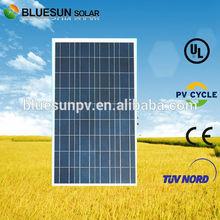 high quality poly 100W 18v solar panel