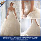 Attractive Sweetheart Crystal beaded Long Train Wedding Dress Wedding Gown 2014