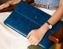 Wholesale genuine leather laptop bag