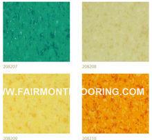 PVC Commercial Flooring / PVC Flooring for Sports, for Office in Tiles JX-01