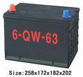 made in china chumbo ácido bateria recarregável carro 78675mf 12v 63ah