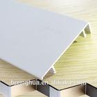 White Powder coatied Decorative Aluminum Skirting Board
