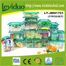 Atacado plástico de armazenamento container como visto na TV