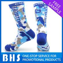 Custom basketball sock cotton/custom elite sock compression