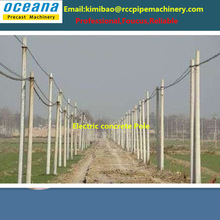 Electric Concrete Poles Manufacturing Plant with Korea Technology to Sudan Market