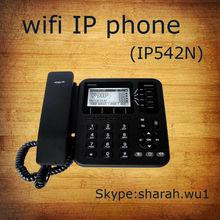 4 lines smart voip wifi sip phone/desktop wifi sip phone/wifi sip desk phone
