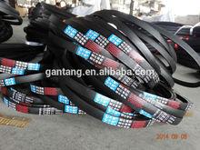 3V 5V 8V SPZ SPA SPB SPC rubber machine v-belt