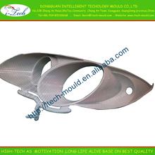 Plastic car lamp mould plastic automotive light housing parts molding aluminum die casting lighting parts