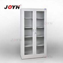 glass swing door steel filing cabinet/file cabinets office furniture manufacturer